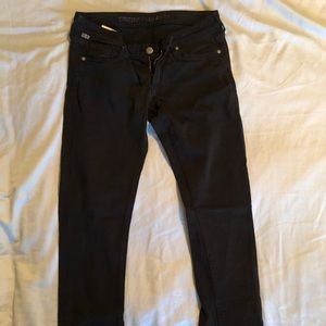 Citizens of Humanity black skinny jeans